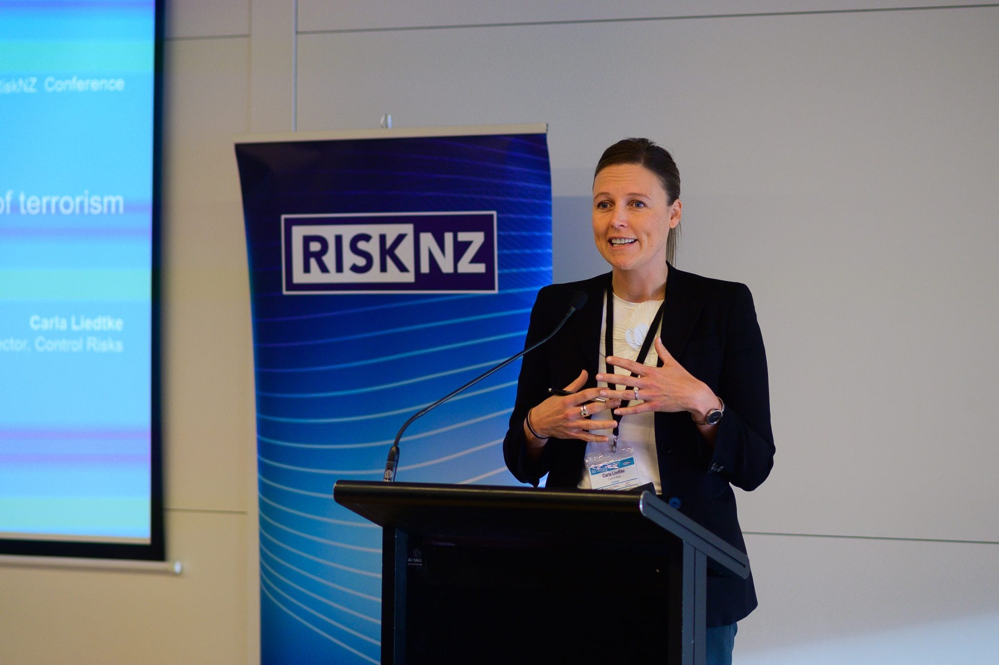 Carla Liedtke, Director, Control Risks Topic - Global Risks 2019