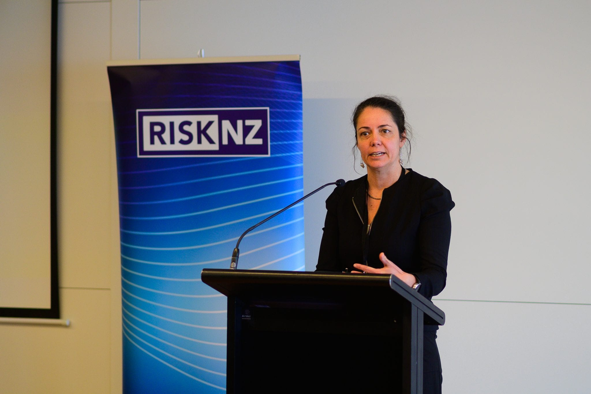 Catriona Robinson, Director of National Security Systems, Department of the Prime Minister and Cabinet (DPMC). Topic: New Zealand's risk-based national security system.