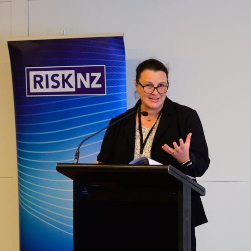 Liesbet Spanjaard, Partner in Financial Advisory, Deloitte Sydney. Topic - Cities and Mobility - how prepared are NZ cities for mobility, what are the risks for society and businesses, and what lessons can be learnt from global cities