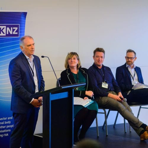 Steve Moore, Deputy Director General Aviation, CAANZ Richard Cross, Manager Strategic Policy and Innovation, Ministry of Transport, and Michael Cameron, Lawyer Moderated by: Jane Rollin Topic - The risks and challenges of introducing autonomous mobility into society