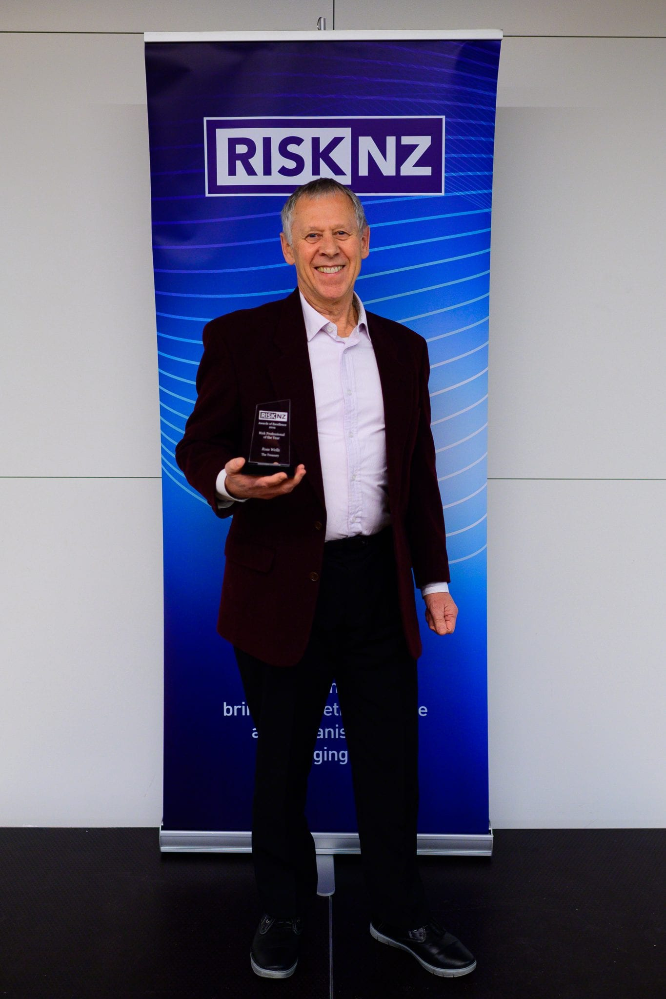 Ross Wells, The Treasury  - winner of Risk Professional of the Year Award
