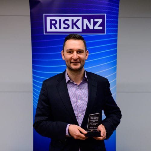 Duncan Stuart, Wellington City Council - winner of Risk Professional of the Year Award