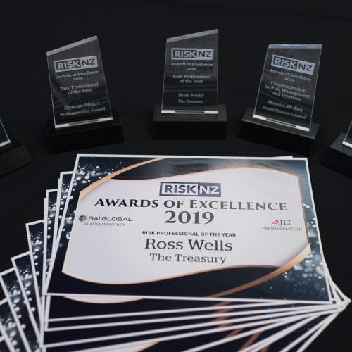 RiskNZ Awards of Excellence 2019