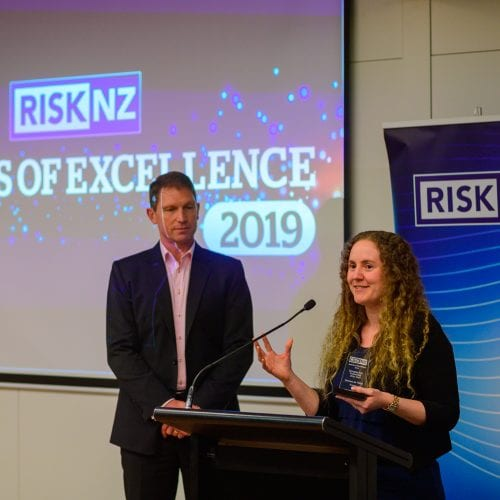 Emerging Risk Professional of the Year - Gemma de Vilder (Fonterra)